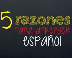 5 reasons to learn Spanish