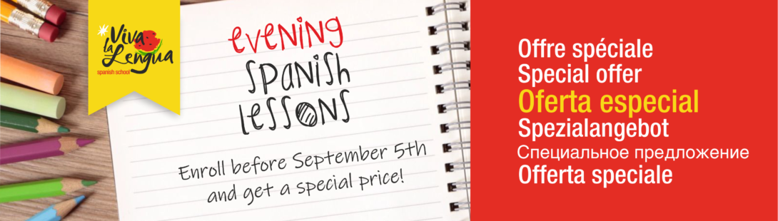 Evening Spanish lessons